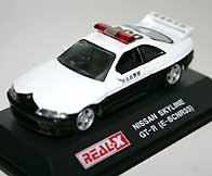 REAL-X Nissan Skyline GT-R R33 PC 001-01